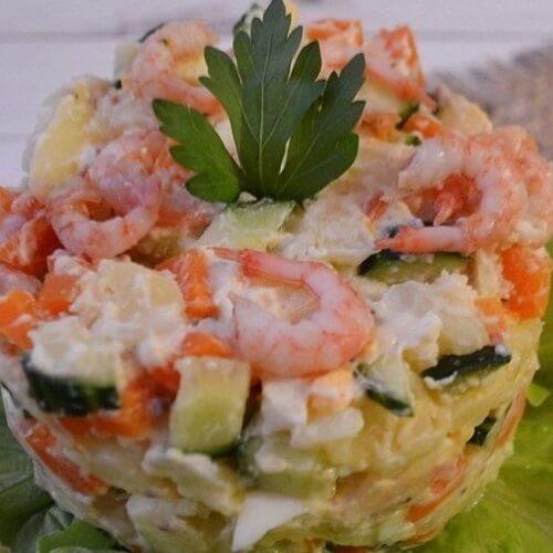 диетический салат на новый год без майонеза