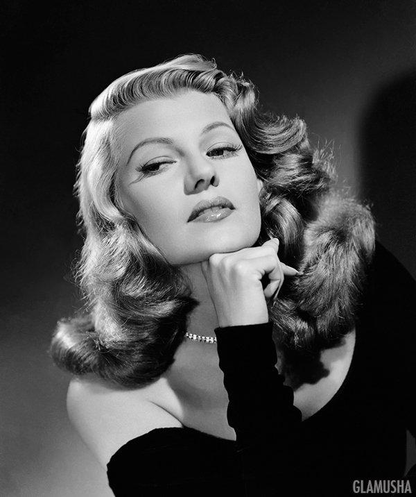 ретро стиль 40-х Рита Хейворт, Rita Hayworth