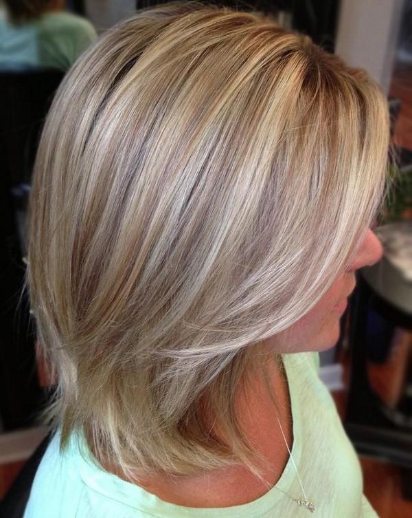 калифорнийское мелирование блондинкам