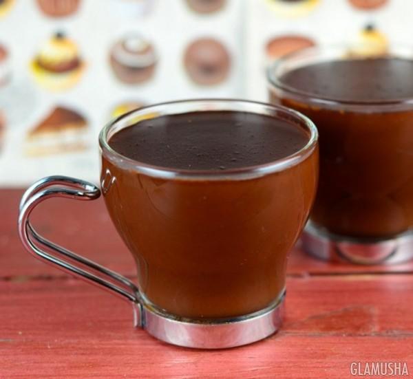 Рецепт приготовления горячего шоколада в домашних условиях