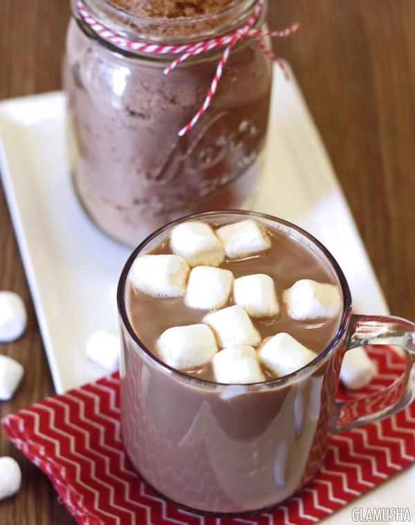 Горячий шоколад без молока