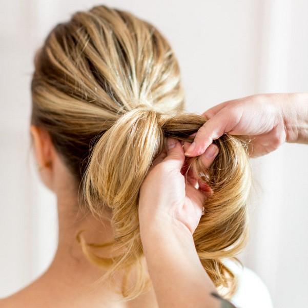 Коса на каждый день пошагово