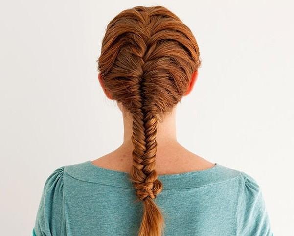 Косы на длинные волосы на каждый день