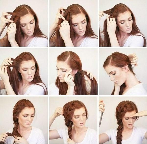 плетение кос на каждый день