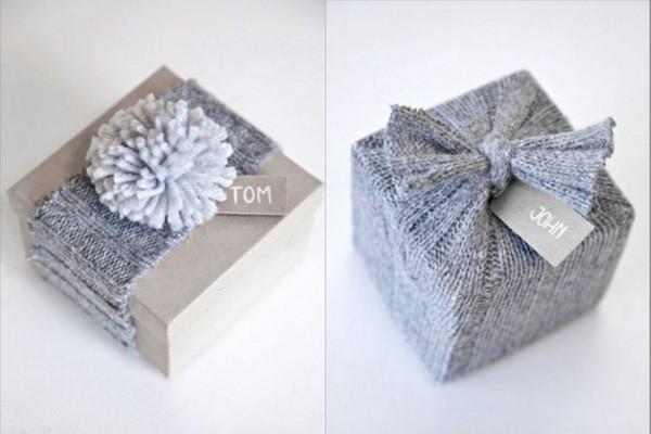 как оригинально упаковать подарок