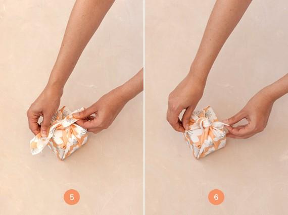 как упаковать подарок пошаговая инструкция - шаг 3