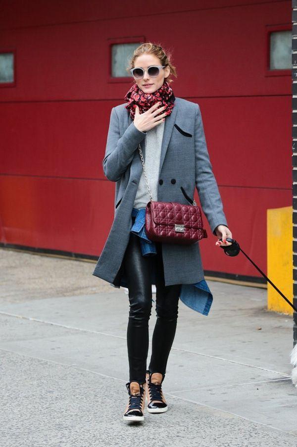 Как и с чем носить леггинсы зимой