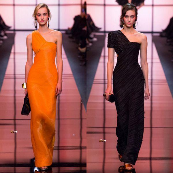 Оранжевый новый черный: Armani Privé