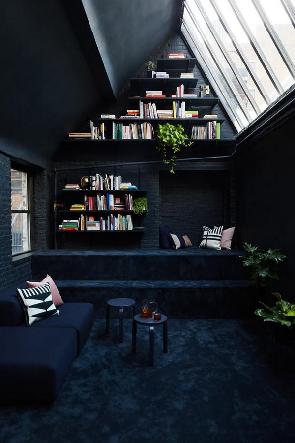 идеи черного цвета в интерьере