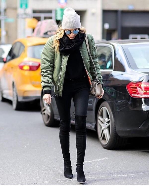 шарф снуд как носить с курткой