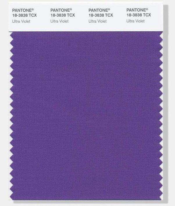 Институт цвета PANTONE объявил Ультрафиолет цветом 2018 года