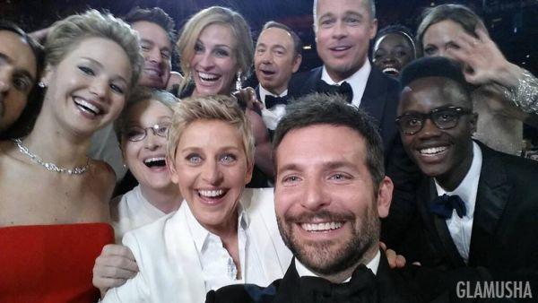 Эпичное селфи с премии Оскар
