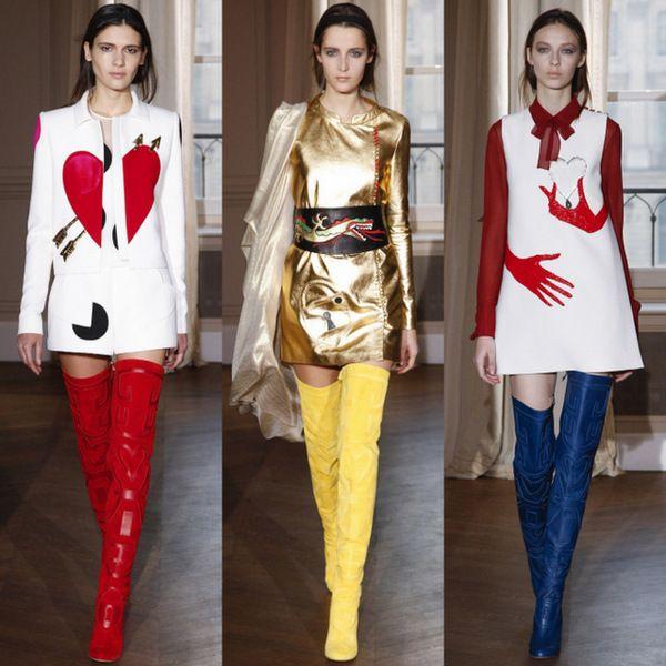 Стильные костюмы, удивительные ботфорты, воздушные платья