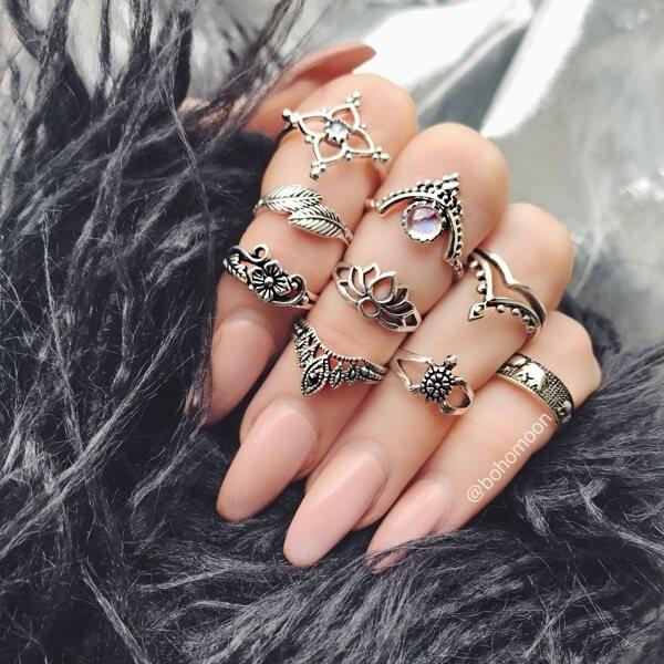 фаланговые кольца алиэкспресс