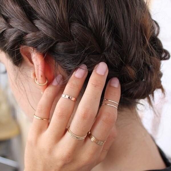 фаланговые кольца бижутерия
