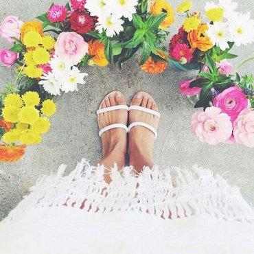 Селфи обуви – вслед за футфи – новый забавный тренд