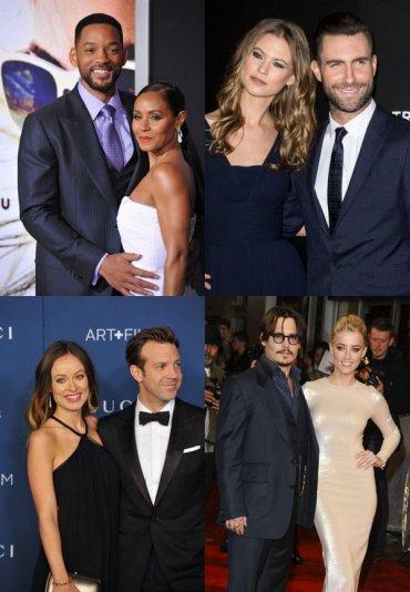 15 самых привлекательных пар Голливуда