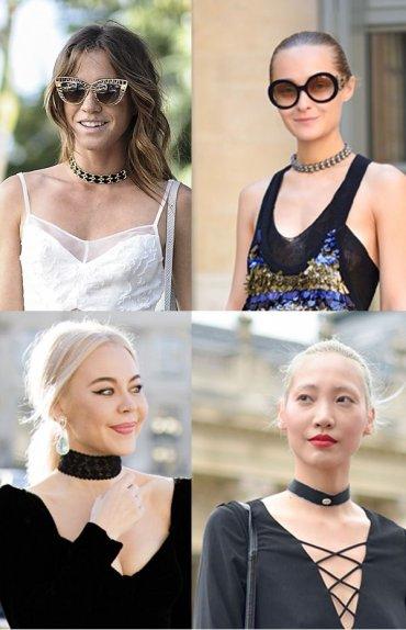 Как и с чем носить чокер: 35 модных образов