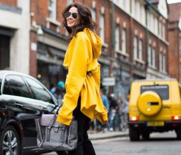 Как носить желтый: 10 образов стритстайла