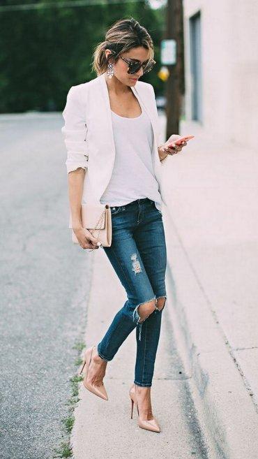 Классика стиля: как носить джинсы с футболкой