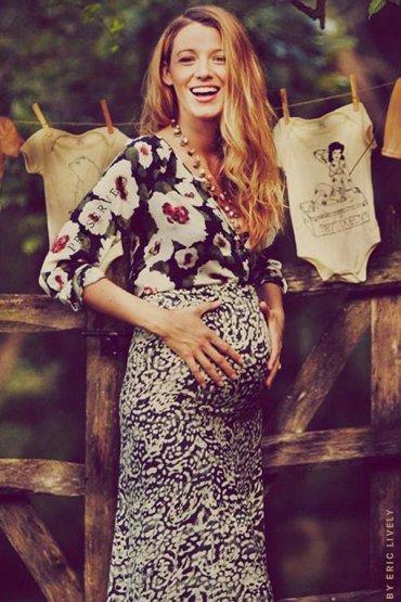 Блейк Лайвли беременна вторым ребенком