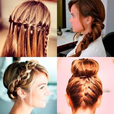 Прически с косами по знакам зодиака