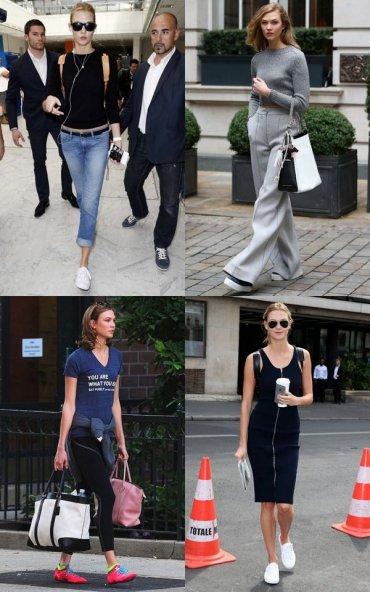 Супермодель Карли Клосс и ее любимые кроссовки