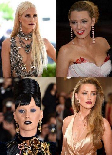 Нельзя пропустить: украшения и аксессуары Met Gala, прически и макияж