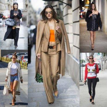 Уроки уличного стиля от Алессандры Амбросио