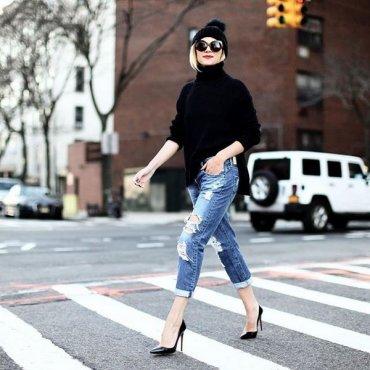 Водолазки – как и с чем носить