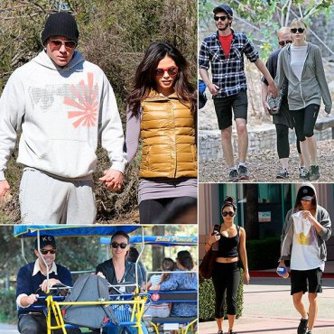 Потные и такие влюбленные: звездные пары, которые занимаются спортом вместе