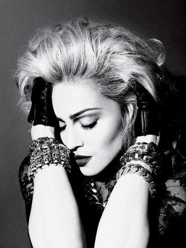 Необработанные фотографии Мадонны