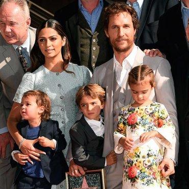 Официально признано: семья Макконахи — самая стильная семья Голливуда