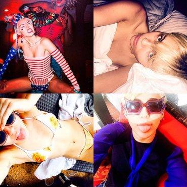 Самые горячие фотографии Майли Сайрус в Instagram