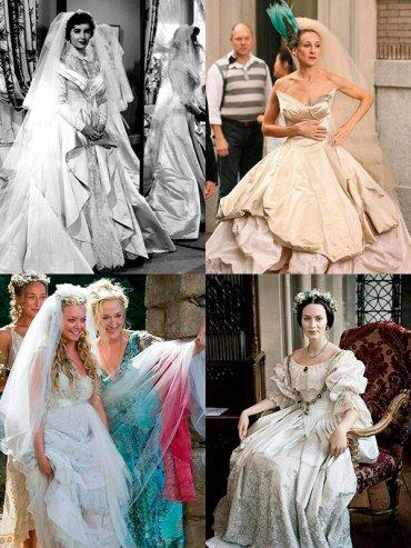 Легендарные свадебные платья в кино
