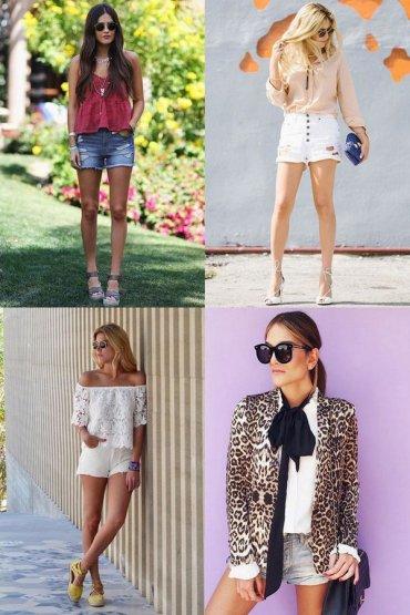 Джинсовые шорты: как и с чем носить