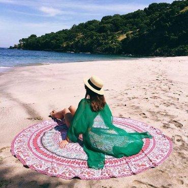 Пляжные полотенца – уже почти искусство