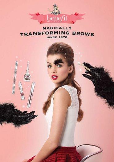 Новая коллекция косметических средств для бровей от бренда Benefit Cosmetics