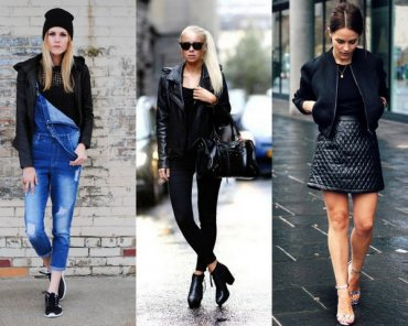 7 совершенно разных стилей в ношении простой черной футболки
