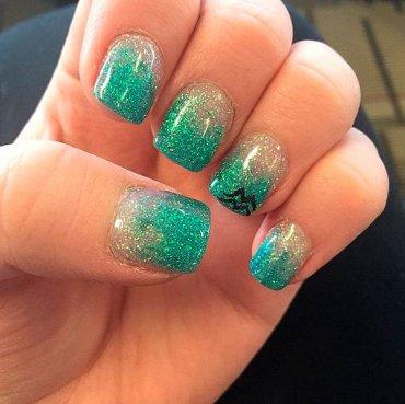 Зодиакальные рисунки на ногтях