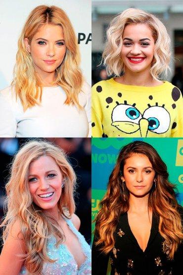 Эффект пляжных волос: прически знаменитостей (фото)
