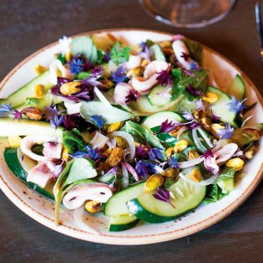 ПП салат с кальмарами