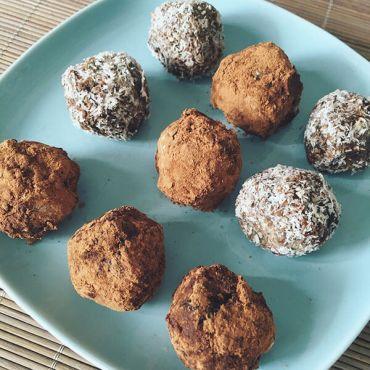 ПП конфеты из сухофруктов и орехов своими руками