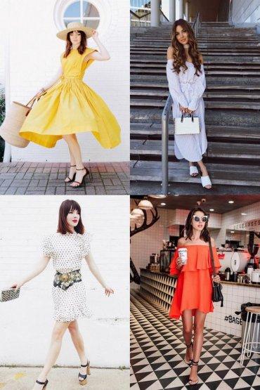 24 способа заставить летнее платье заговорить по-новому