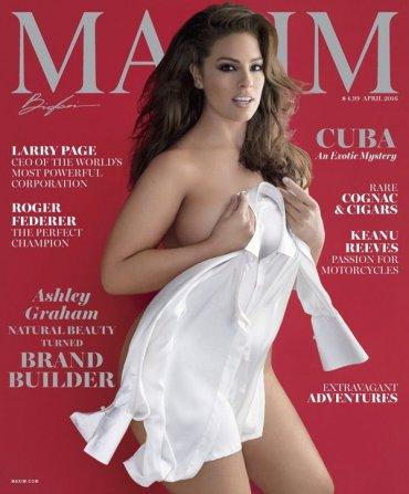 Plus-size модель Эшли Грэхэм и ее линия нижнего белья