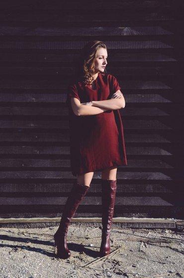 Сапоги-ботфорты - с чем носить