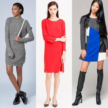 14 платьев для холодной поры, когда одеваться совсем не хочется