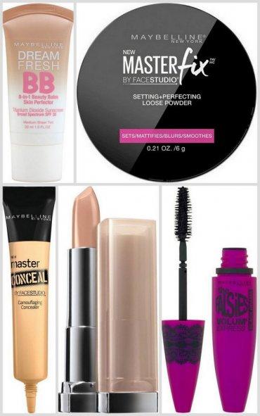 10 косметических продуктов Maybelline по восхитительно бюджетной цене