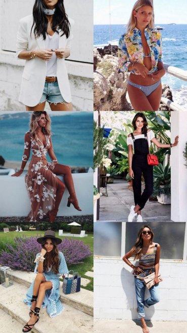 Модные образы и идеи для второй половины лета