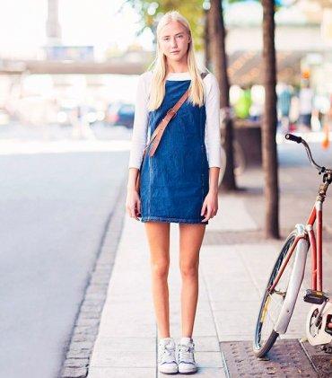 19 джинсовых платьев для лета